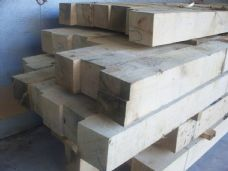 "GREEN OAK - BEAMS - 8"" x 4""  VARIOUS LENGTHS"